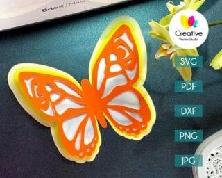 Butterfly SVG #3
