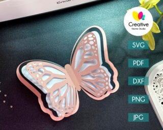 Butterfly SVG #7