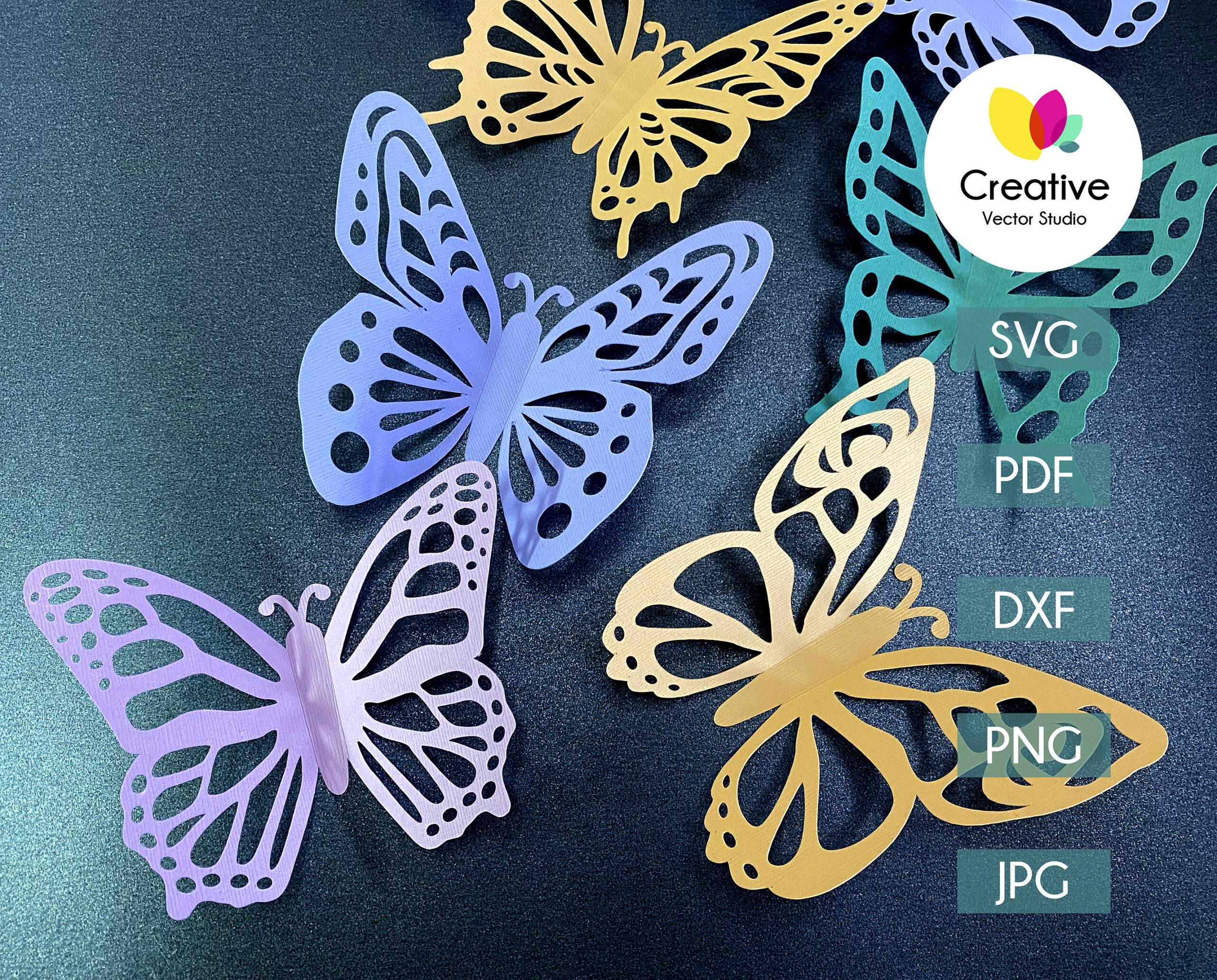 Paper Butterfly svg bundle