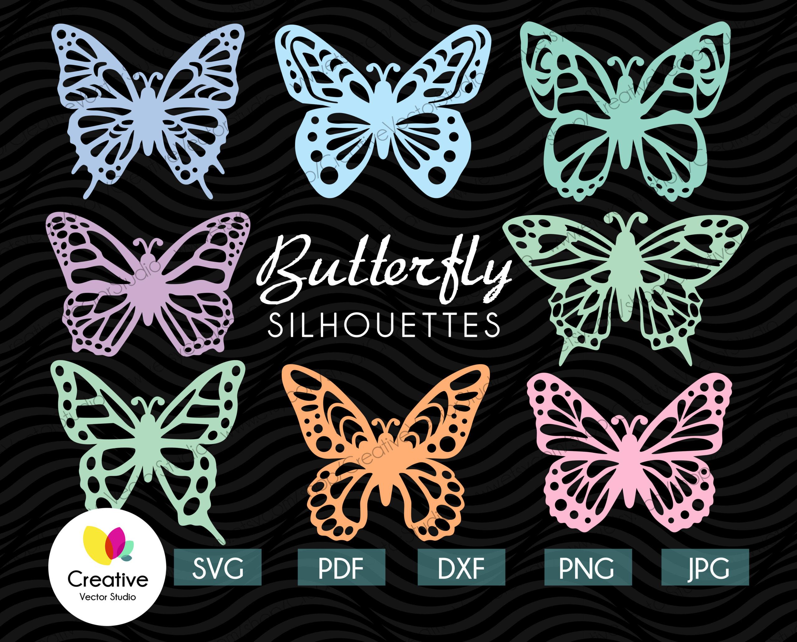 Butterfly 3d svg