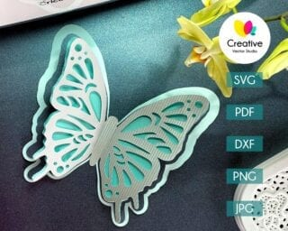 Butterfly SVG #6