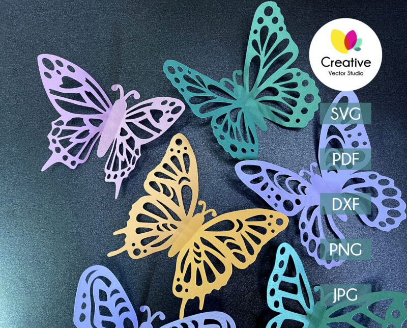 Paper Butterfly svg