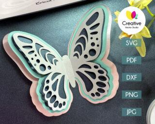 Butterfly SVG #8