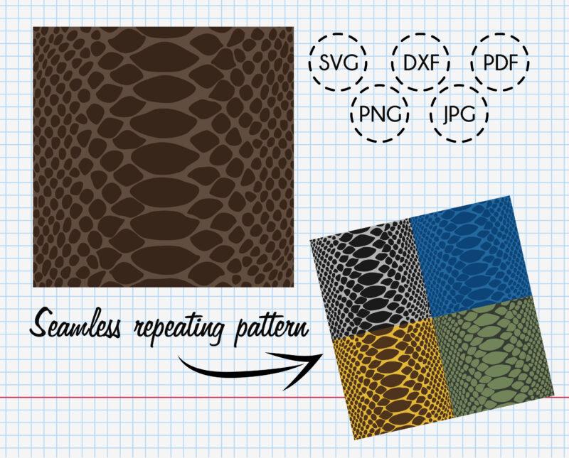 Snake skin vector pattern