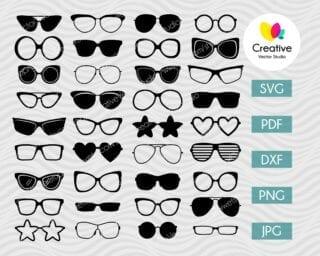 Sunglasses svg bundle