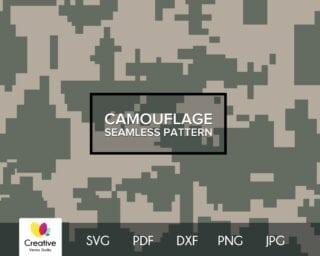 AcuPat Camouflage SVG Seamless Pattern