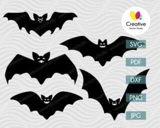 Halloween Bat SVG Bundle
