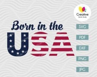 Born in the USA svg
