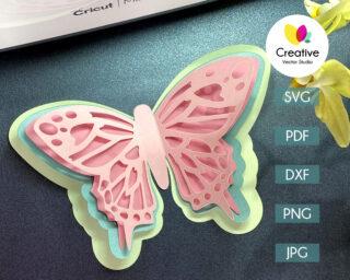 Butterfly SVG #2