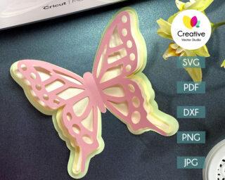 Butterfly SVG #5