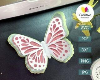Butterfly SVG #1