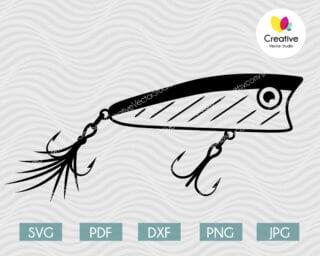 fishing lure svg #9