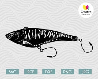 fishing lure svg #4