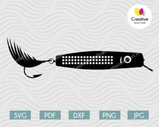 fishing lure svg #10