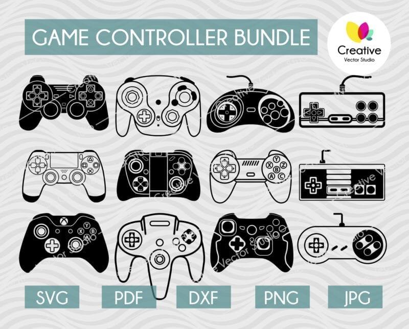 game controller svg