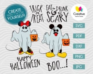 halloween mouse svg
