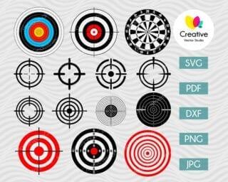 Target SVG Bundle