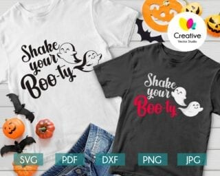 Shake Your Booty SVG
