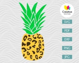 Pineapple SVG #14