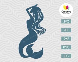 Mermaid SVG #6