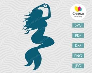 Mermaid SVG #3
