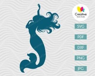 Mermaid SVG #2