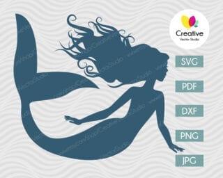 Mermaid SVG #5