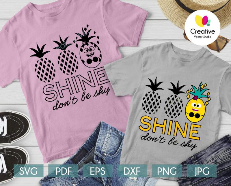 Summer Pineapple svg