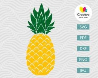 Pineapple SVG #4