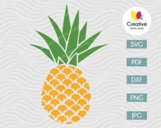 Pineapple SVG #15