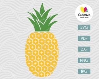 Pineapple SVG #13