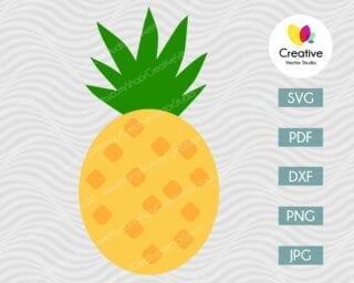 Pineapple SVG #12