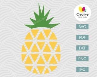Pineapple SVG #11