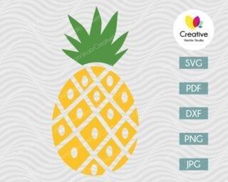 Pineapple SVG #10