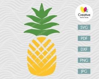 Pineapple SVG #9