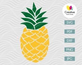 Pineapple SVG #8