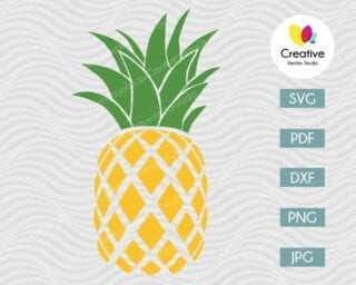 Pineapple SVG #7