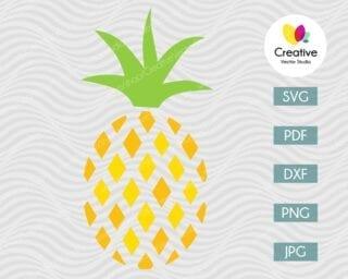 Pineapple SVG #6