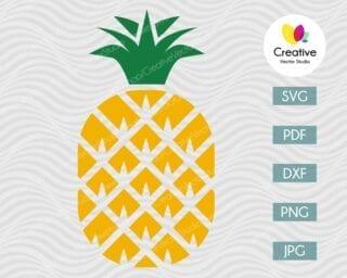 Pineapple SVG #5