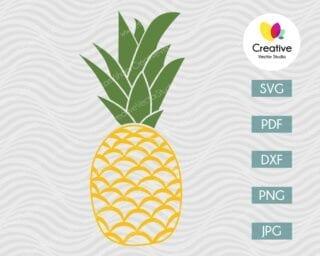 Pineapple SVG #3