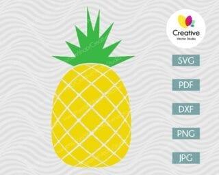 Pineapple SVG #2