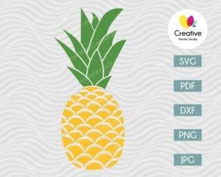 Pineapple SVG #1