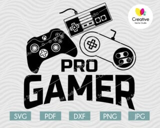 pro gamer svg