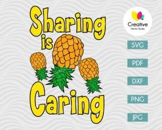 Sharing is Caring SVG