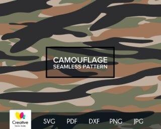 Tiger Stripe Camouflage SVG