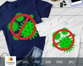 No Virus SVG