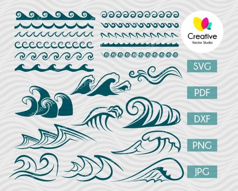 Wave SVG Bundle