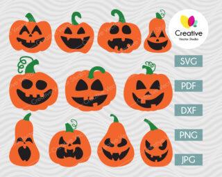 Pumpkin SVG Halloween Bundle