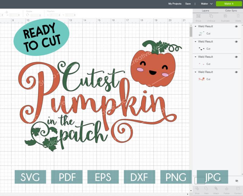 Thanksgiving_cutes_pumpkin_ready to cut_svg_cricut