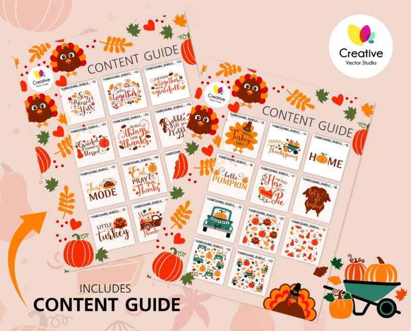 thanksgiving svg content guide